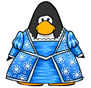 Grumpunzel's Dress from a Player Card