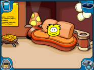Yellow puffle Book Room