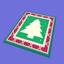Alfombra de Navidad icono