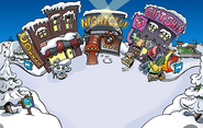 Great Snow Race Town