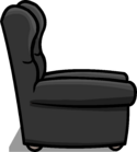 Plush Gray Chair sprite 007