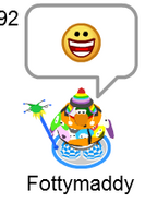 Puffle playercard in game