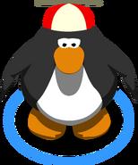 Red Propeller Cap in-game