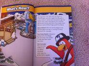 Sala de Noticias en la Increíble Guía Oficial de Club Penguin