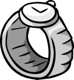Silver Watch clothing icon ID 323