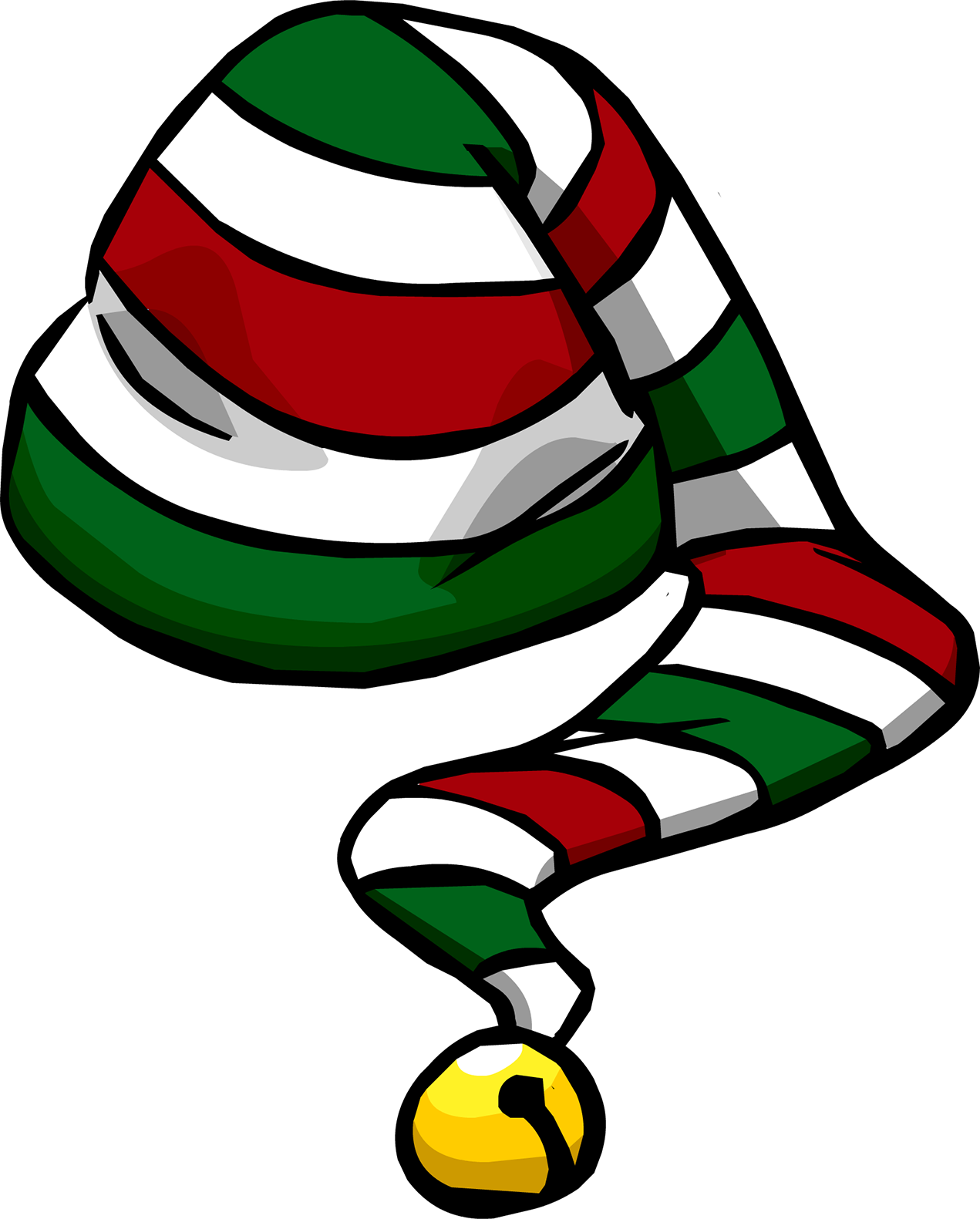 Sombrero Bastón de Caramelo | Club Penguin Wiki | FANDOM powered by ...