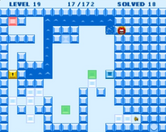 Thin ice hidden treasure room
