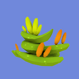 Xenoplanta Verde Icono