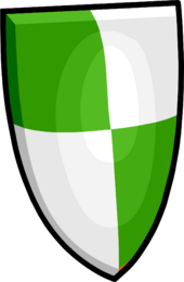 Green Shield clothing icon ID 723