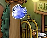 Pin Puffle Cristal Celeste Ubicación