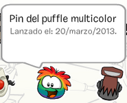 Puffle multicolor
