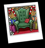 Santa Seat Background icon ID 9121