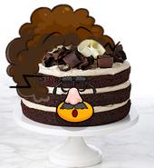 Sugar afro cake
