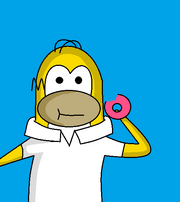 Zomg its homer simpson from CP