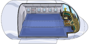 Avion super aereo de Club Penguin.