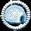 Calcomanía Iglú icono