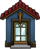 Cozy Blue Door sprite 003