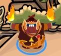 Ninja Fuego Bailando