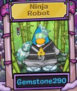 Ninja Robot Ganador 2