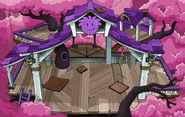 Purple Puffle Tree House sprite