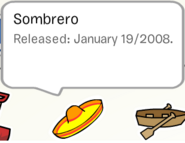 Sombrero pin stampbook