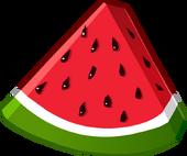 Watermelon Puffle Food