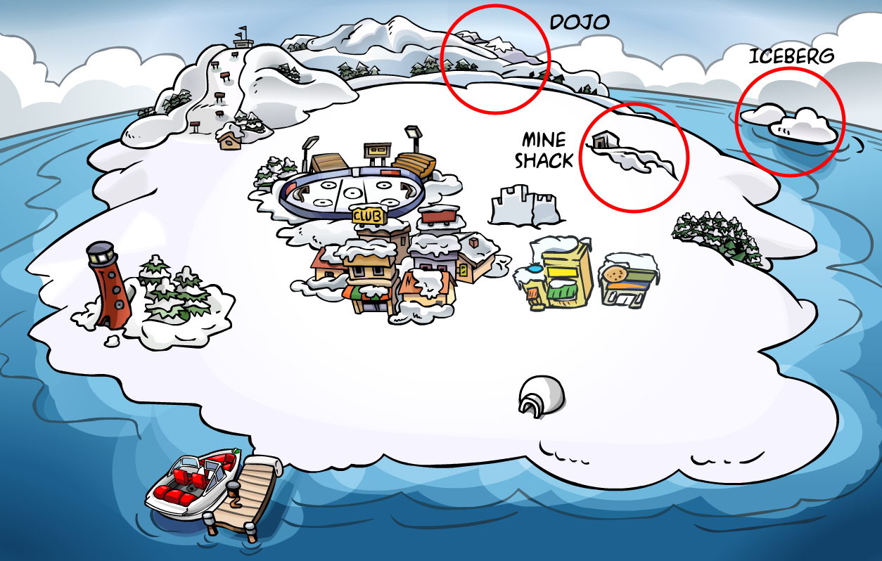 Secret Rooms | Club Penguin Wiki | FANDOM powered by Wikia