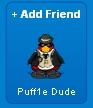 Puff1e Dude al enviarle una solicitud de amistad