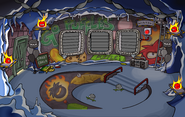 Puffle Party 2011 Underground Pool light off