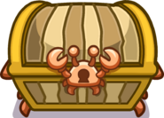 Crab Treasure chest emote