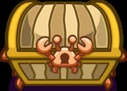 Crab Treasure chest emote