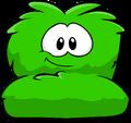 Fuzzy Green Couch sprite 002
