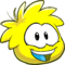 Puffle 2014 Transformation Player Card Yellow