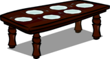 Rosewood Dinner Table sprite 008