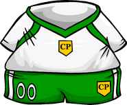 Green Away Soccer Jersey ID 776 icon