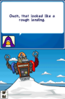 Protobot crash in snow