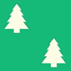 Fabric Tree holiday icon