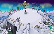 Montaña navideña