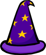 Purple Wizard hat 3