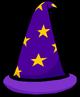 Purple Wizard hat 3