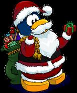 Santa December 2011 Penguin Style