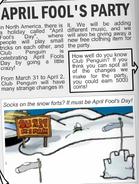 Fiesta del 1 de Abril 2006 - En el Diario