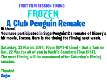 Frozencpremakefirstsessiontiming