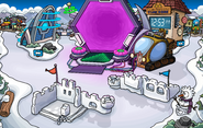 Future Party Snow Forts