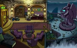 Halloween Party 2014 Puffle Hotel Balcony