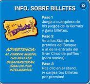 Info. sobre la Kermes de 2011.