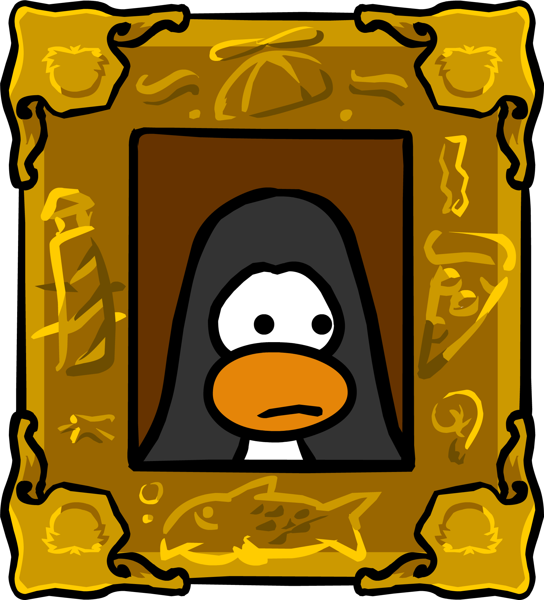 Moving Eye Painting Club Penguin Wiki Fandom Powered By Wikia