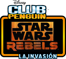Star Wars Rebels La Invasión logo