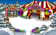 The Fair 2010 Great Puffle Circus Entrance