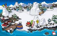 Festival of Snow 2015 construction Dock